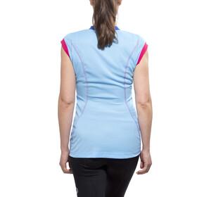GORE RUNNING WEAR SUNLIGHT 4.0 Koszulka do biegania z krótkim rękawem Kobiety niebieski